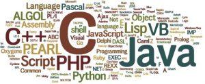 Programming language names