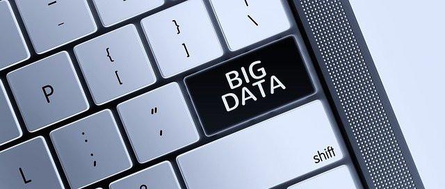 big data key on keyboard